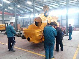 泰沃HBTS20-06-30混凝土搅拌输送泵