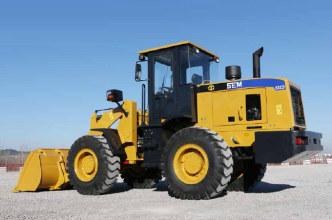 山工SEM632D轮式装载机高清图 - 外观