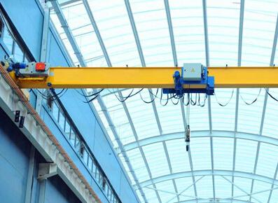 泰沃欧式单梁桥式起重机20吨视频