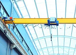 泰沃欧式单梁桥式起重机20吨