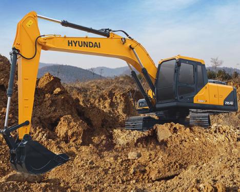 现代215LVS挖掘机