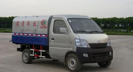 江特长安自卸式垃圾车(国四)