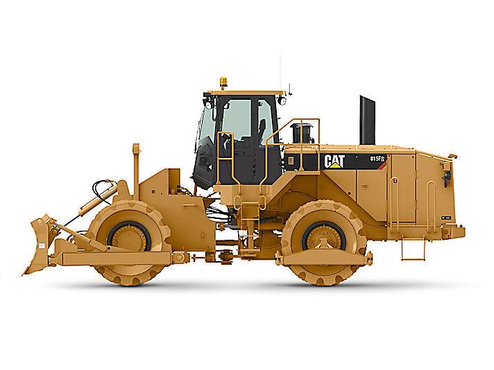 卡特彼勒CAT®815F 系列土壤压实机