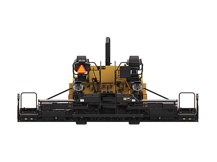 卡特彼勒SE60 V振动熨平板沥青摊铺机高清图 - 外观