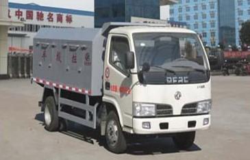 江特东风自卸式密封垃圾车(国四)高清图 - 外观
