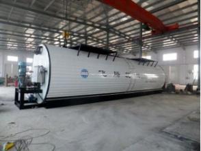 飛騰YSXL-45燃油、導熱油雙加溫橡膠瀝青儲存罐高清圖 - 外觀