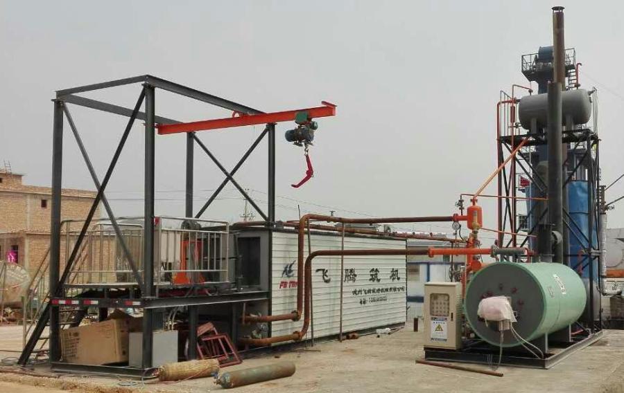 飞腾DLT-10桶装沥青脱桶融化设备