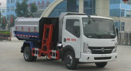 江特东风挂桶垃圾车(国四)