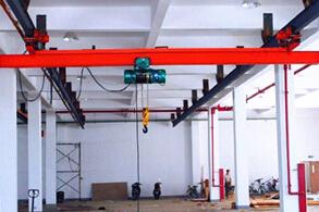 泰沃LX型电动单梁悬挂起重机高清图 - 外观