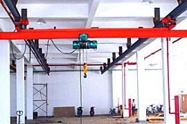 泰沃LX型电动单梁悬挂起重机