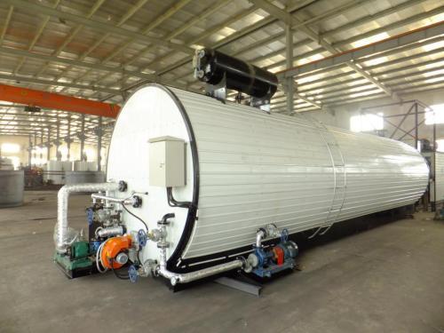 飛騰YZSL-50燃油、導熱油雙加溫瀝青儲存罐