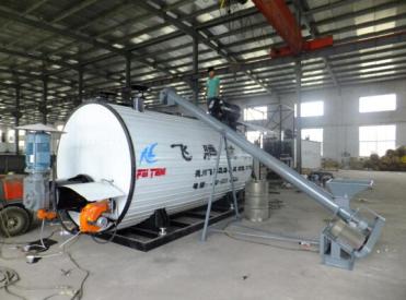 飞腾YSCL-35燃油、导热油双加温彩色沥青生产罐