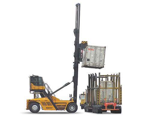 三一重工SDCY90K7C15-H集装箱空箱堆高机高清图 - 外观