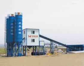 虎鼎机械HZS240混凝土搅拌站高清图 - 外观