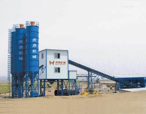 虎鼎机械HZS180混凝土搅拌站