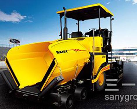 三一重工SAP100T-5高等级沥青摊铺机