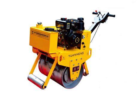 远恒YH-YL600C手扶式单轮压路机高清图 - 外观