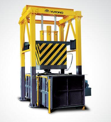 宇通重工SO4O1P垂直式生活垃圾压缩中转设备高清图 - 外观