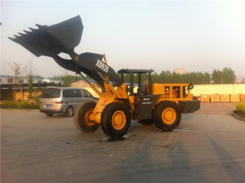 泰安现代XD935井下装载机3吨