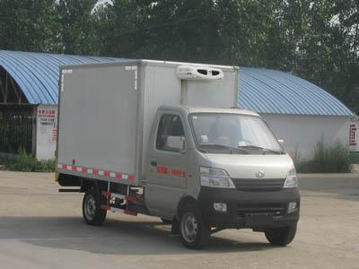 江特长安国四冷藏车高清图 - 外观