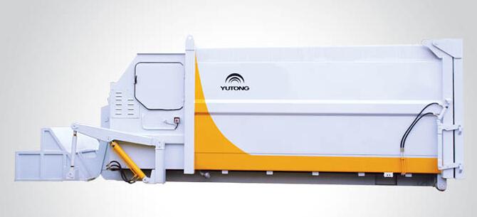 宇通重工S1700M移动式垃圾压缩设备高清图 - 外观