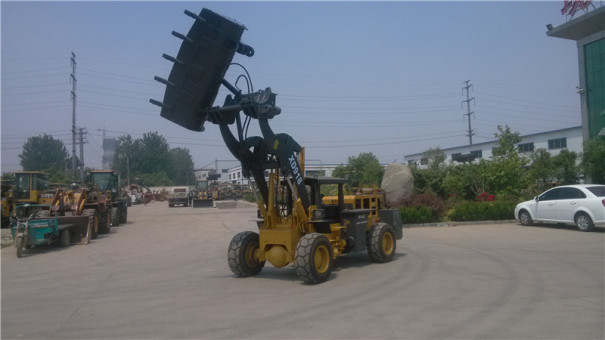 泰安现代XD918高低型井下装载机1.6  吨