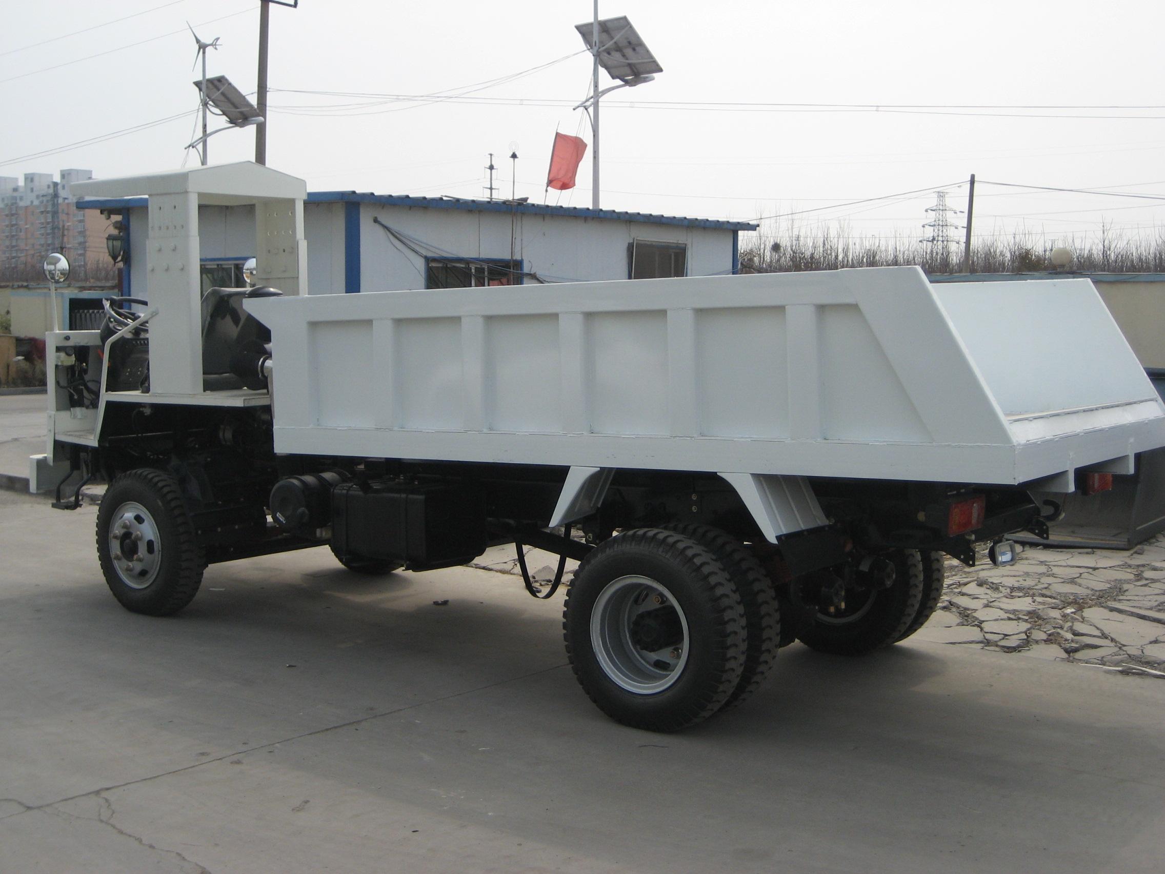 现代重工XDYS-8矿用自卸车高清图 - 外观