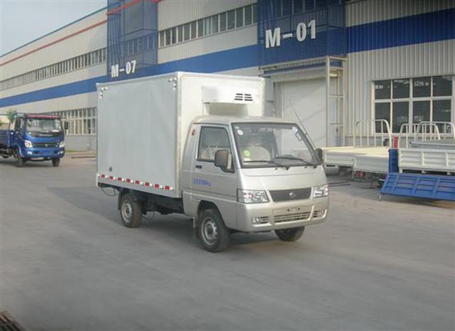 江特福田驭菱国四冷藏车高清图 - 外观
