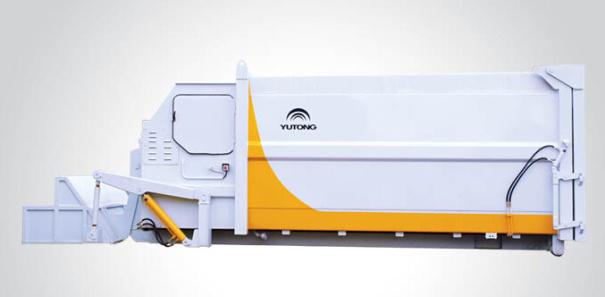 宇通重工S1000M移动式垃圾压缩设备