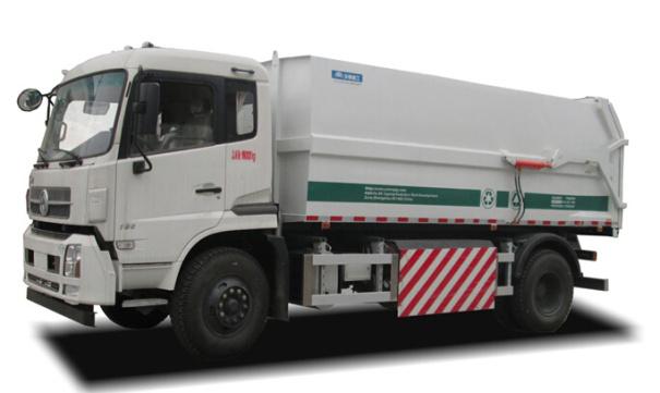 宇通重工YTZ5160ZDJ20G (CNG)压缩式对接垃圾车