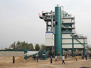 亚龙筑机SLB1500沥青混合料搅拌设备
