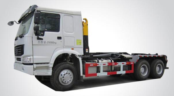 宇通重工YTZ5252ZXX40D5车厢可卸式垃圾车