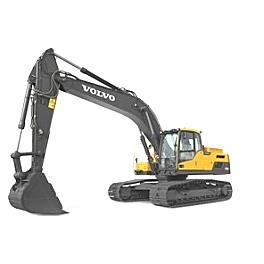 沃尔沃EC250DL履带式挖掘机