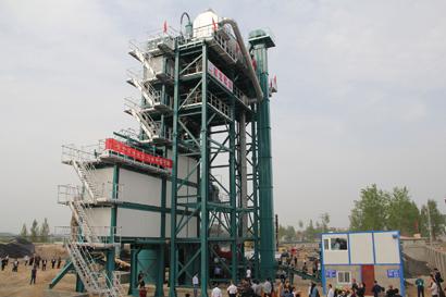 亚龙筑机RAP600沥青混合料厂拌热再生设备高清图 - 外观