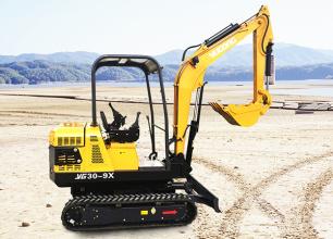 驭工YG30-9X(带先导操作)履带式小型液压挖掘机高清图 - 外观