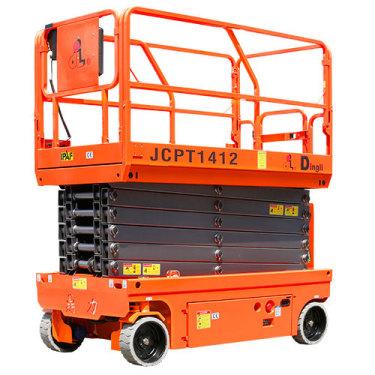 鼎力JCPT1412HD自行走剪叉式高空作业平台(液压马达驱动)