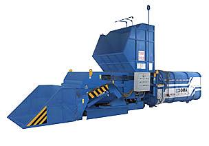 厦工LVZ100(水平式)垃圾压缩中转站