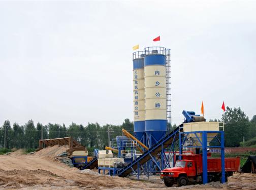 亚龙筑机WBC600稳定土厂拌设备