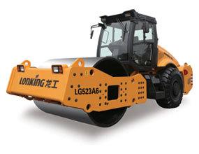 龙工LG523A6机械驱动单钢轮压路机
