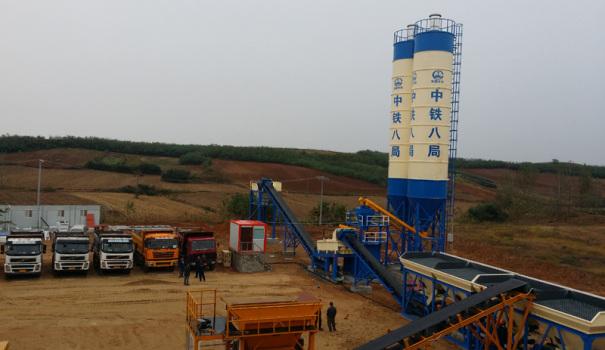亚龙筑机WBC700稳定土厂拌设备