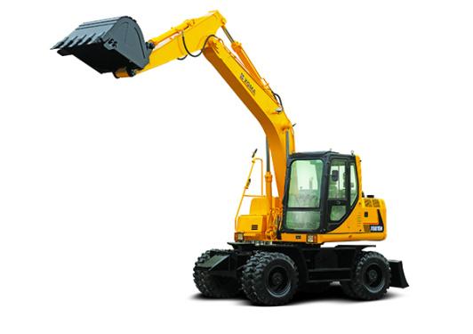 厦工XG815W轮式挖掘机