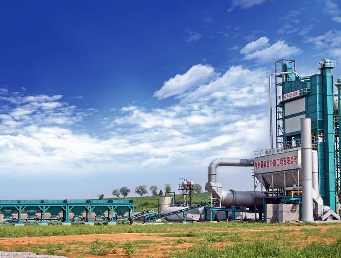 亚龙筑机RAP1500沥青混合料厂拌热再生设备高清图 - 外观