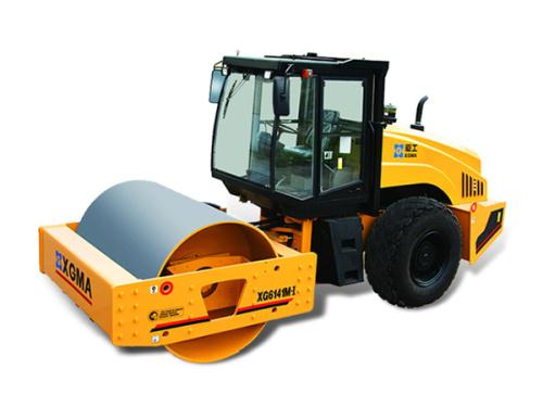 廈工XG6141M-I機械式單鋼輪壓路機