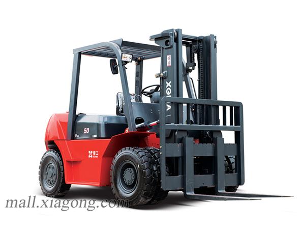 厦工XG560-DT5B内燃平衡重式叉车高清图 - 外观