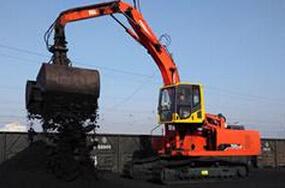 永工YGX360LC-8履带式卸煤挖掘机