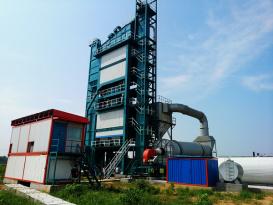 亚龙筑机HXB5000沥青混合料搅拌设备