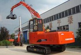 永工YGX200-7履带式卸煤挖掘机