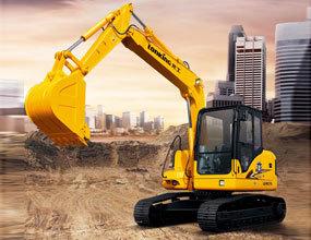 龙工LG6075挖掘机高清图 - 外观
