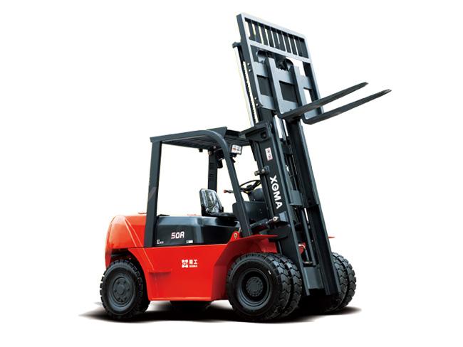 厦工XG570-DT5B内燃平衡重式叉车高清图 - 外观
