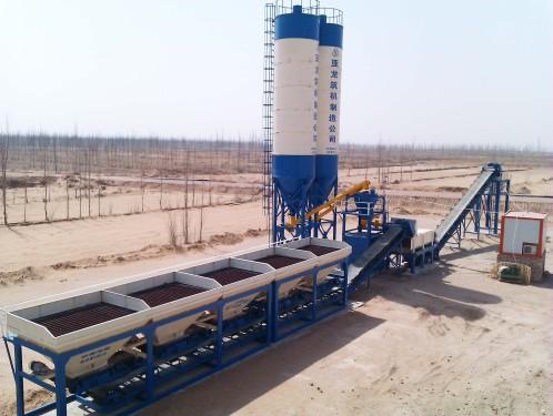 亚龙筑机WBC500稳定土厂拌设备